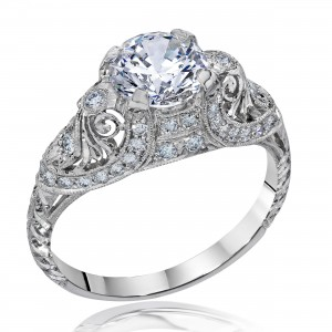 Whitehouse Brothers Engagement Ring