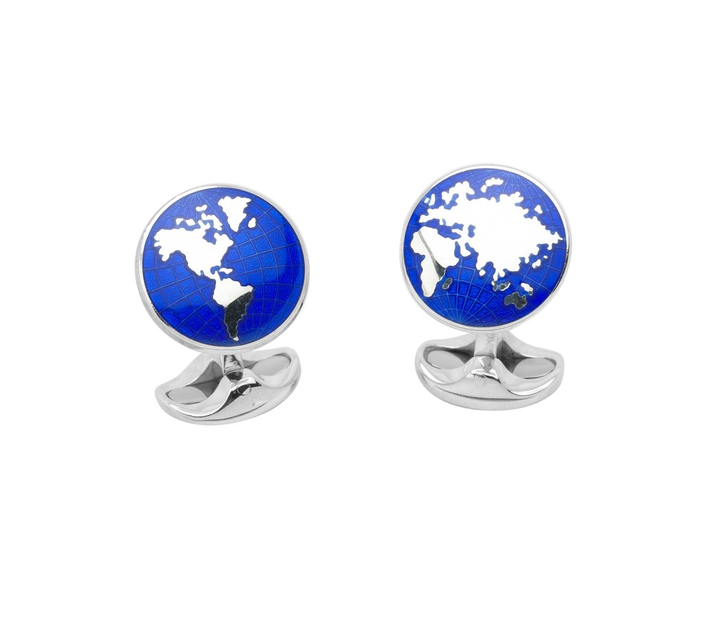 Enamel World Cufflinks