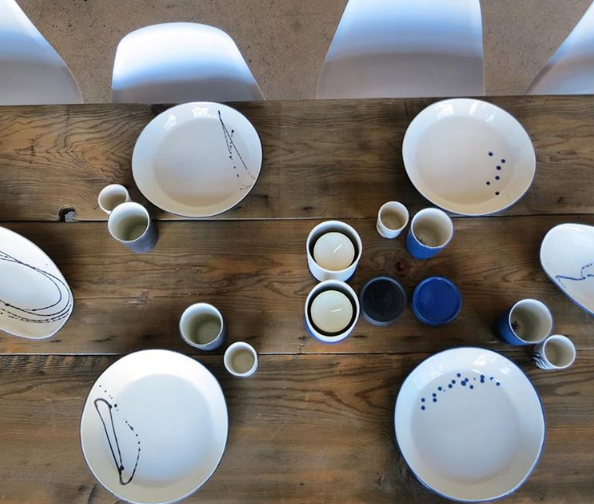 plates, bowls & place settings