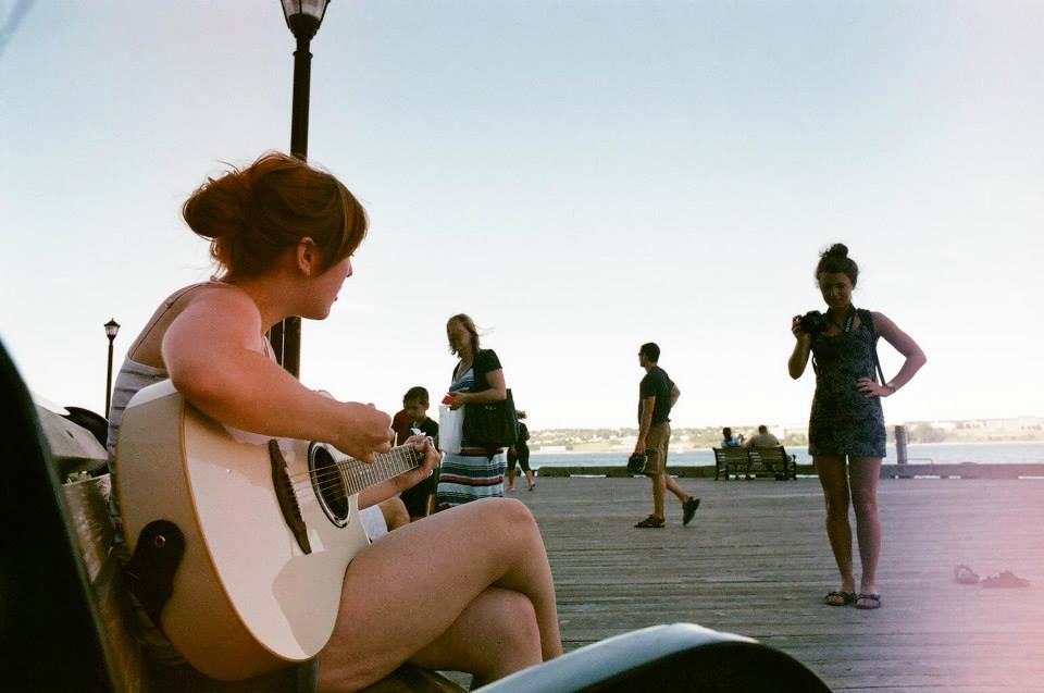 Busking in Halifax