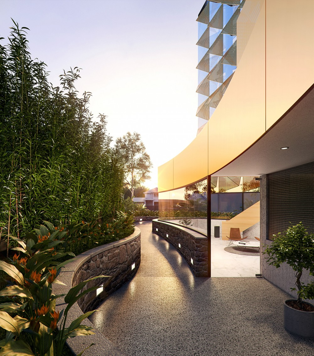 The Hugo, Footscray Client:  John Demos Architects  Est. Project Budget: $6,000,000  Structural and Civil Services for a multi-level apartment complex