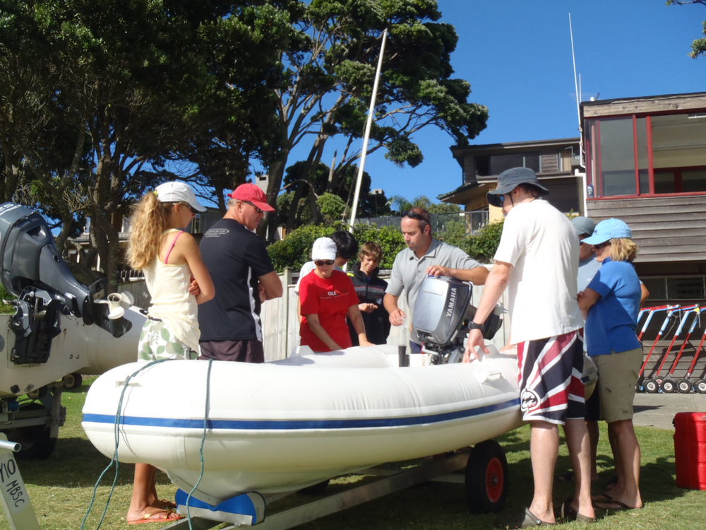 club safety boat onshore boat talk Murrays bay.JPG