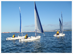 Kids Learn to Sail in Tauranga