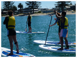 School Holiday Activities Paddleboarding