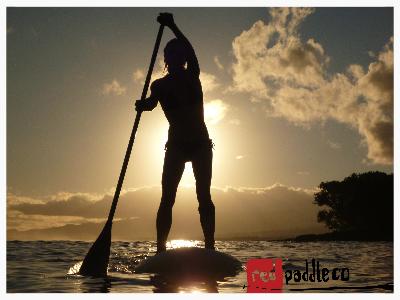 Twilight Paddleboarding