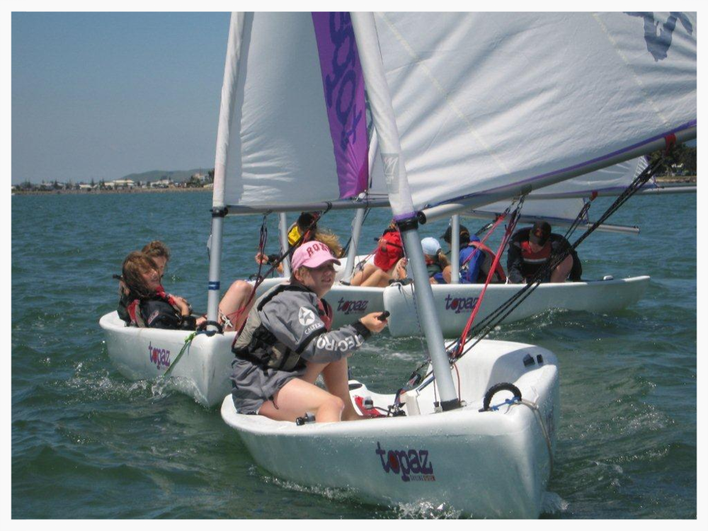 Schools Sailing outdoor activity day