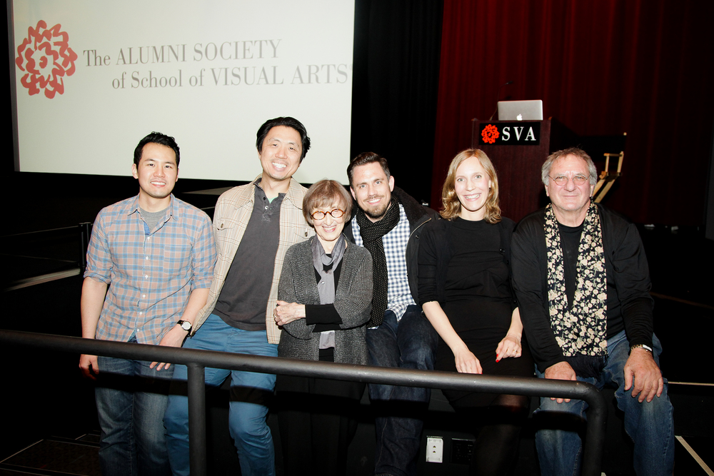 Julia Hoffman, Richard Wilde, & SVA Alumni
