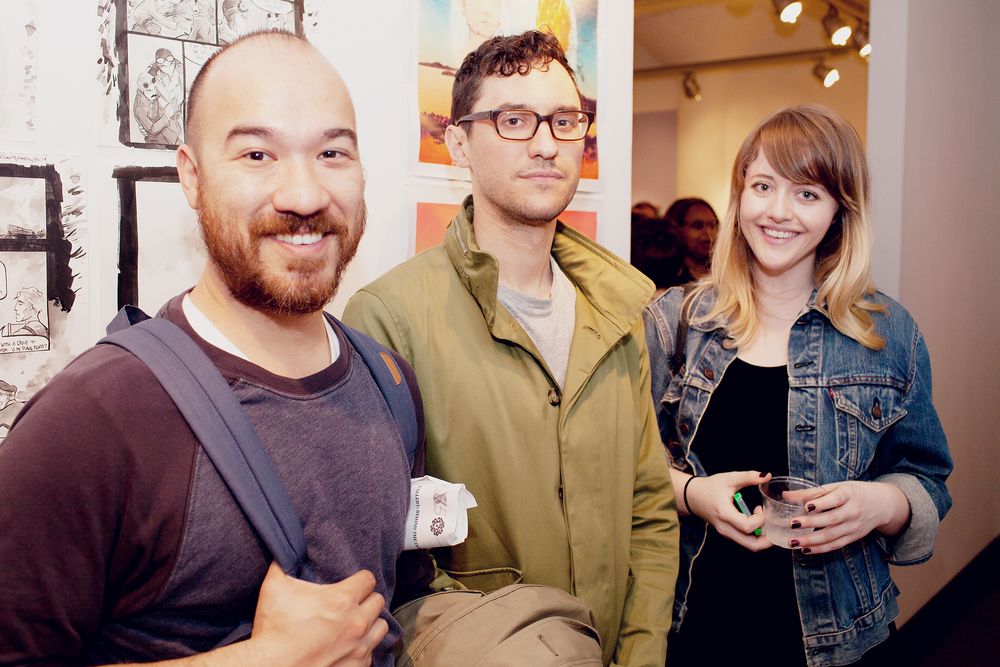 Josh Cochran & Sam Weber, SVA Illustration Faculty