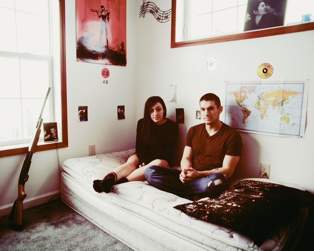Ben & Me on Ben's Bed