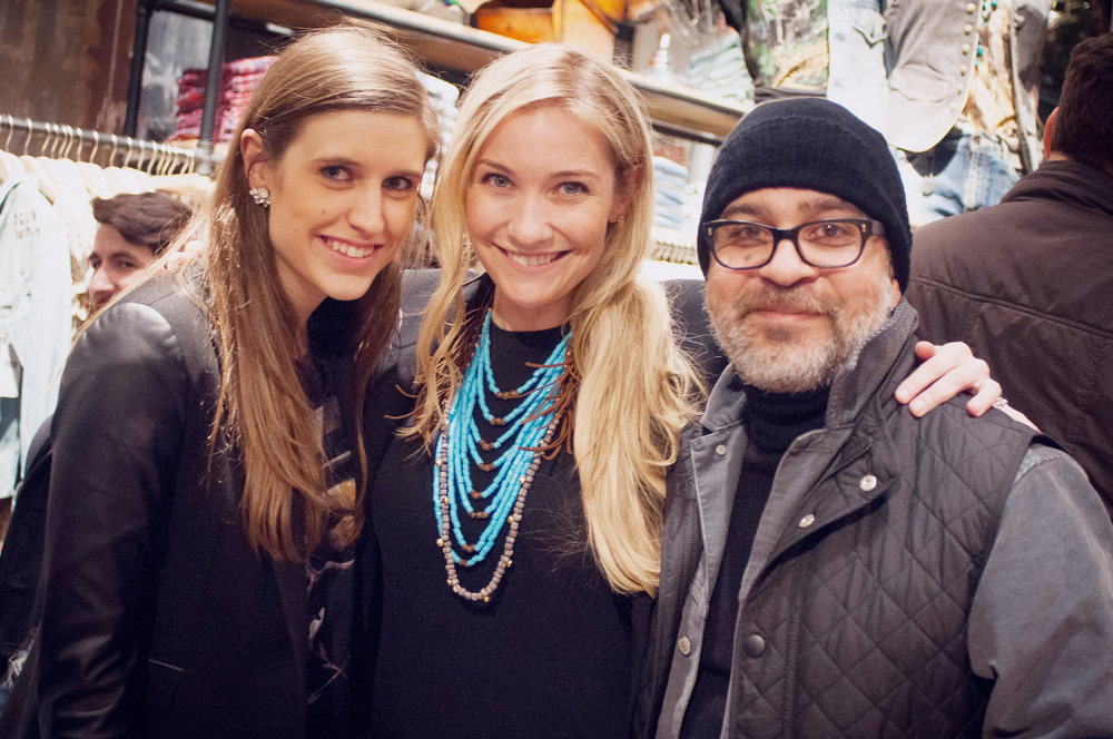 Opening Reception for the Art Wall Project   Denim & Supply by Ralph Lauren New York, New York, 2014