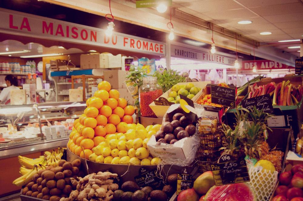 Grocery store in Avignon