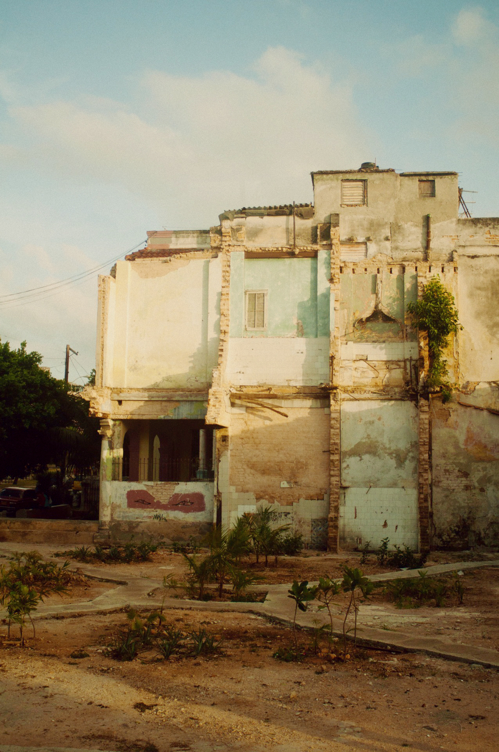 a building in havana