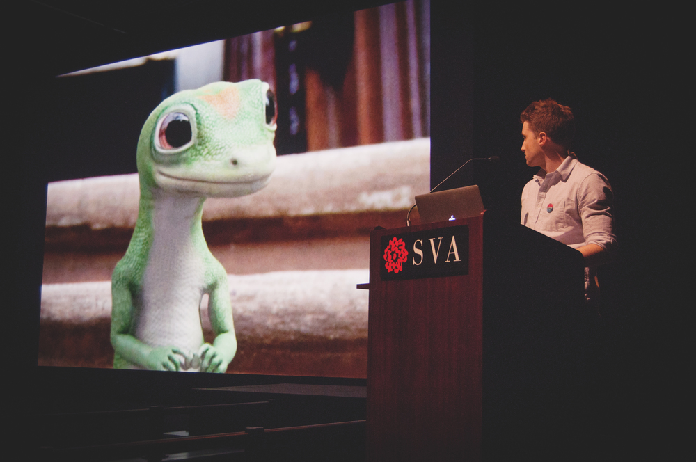Seth Gollub at the SVA Theatre New York, New York, 2014
