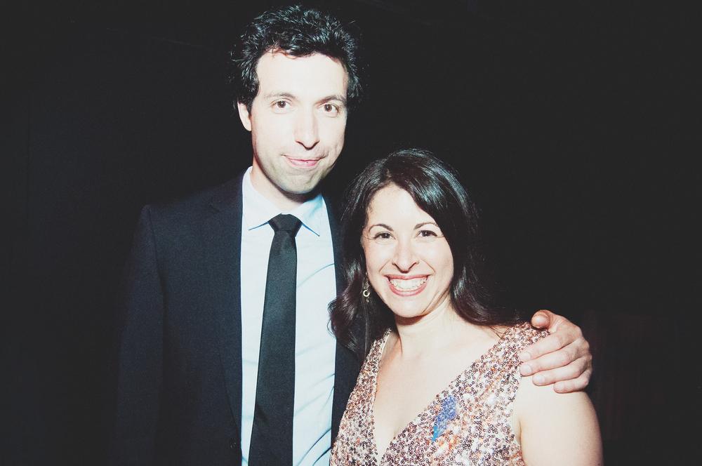 Alex Karpovsky & Rabbi Shira Epstein