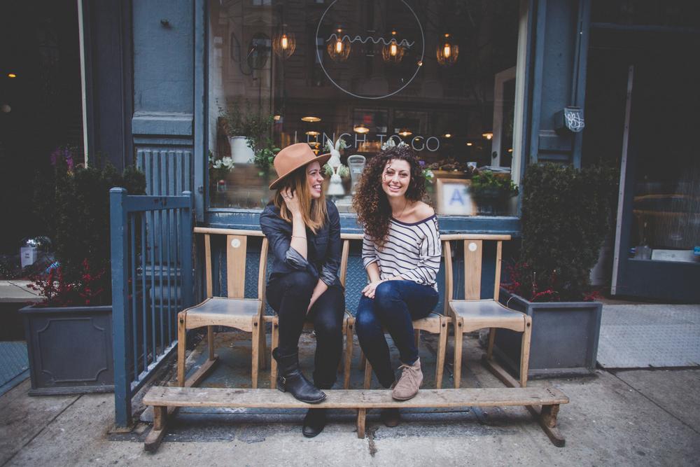 Candice Kaye & Elisa Marshall of Maman NYC