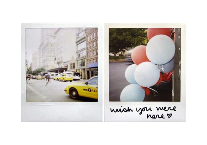 New York, New York, 2008 (polaroid 600)