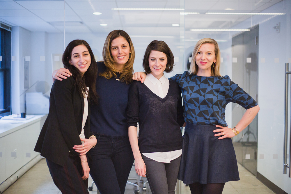 Navah Rosenbaum, Soraya Darabi, Maxine Bédat, and Elizabeth Carey Smith
