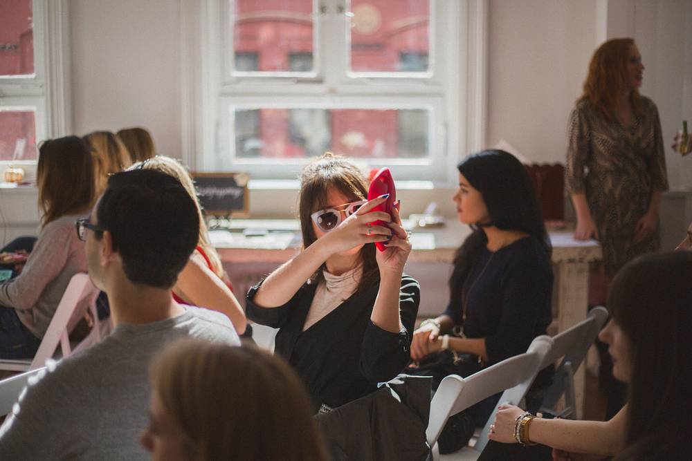 Lovely Happenings  Fall Lifestyle Workshop Home Studios, New York City, 2015  view more:  events