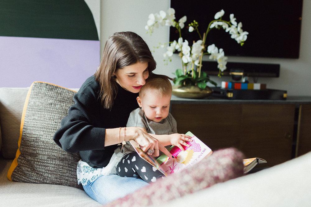 Rachel Blumenthal with Daughter, Gemma
