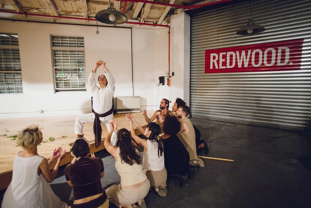 Witness the Beginning at REDWOOD Studios