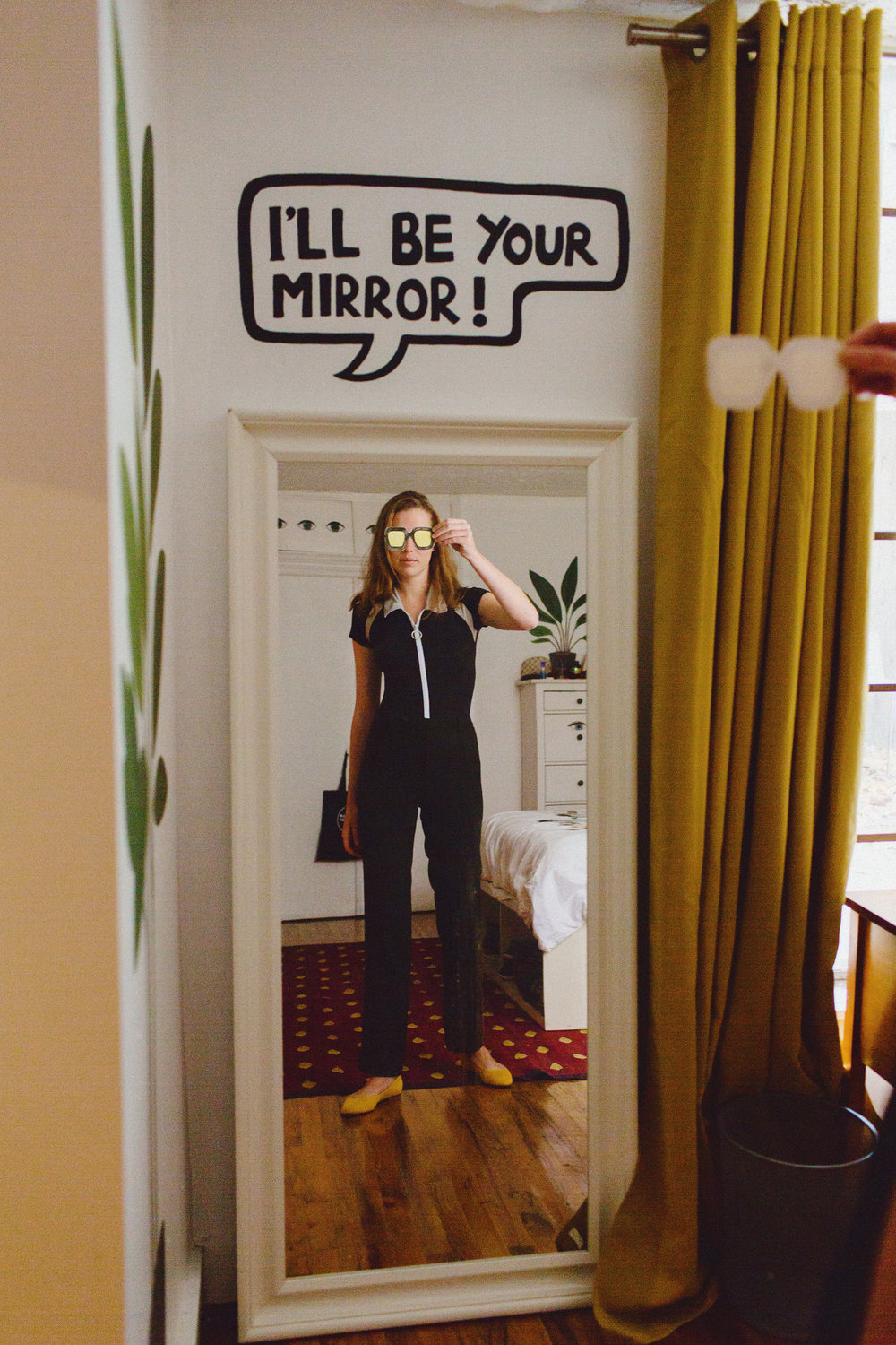 Angelica Hicks in her Apartment