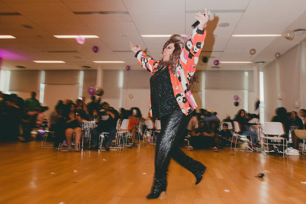 """Out in This World"" Pride Prom Manny Cantor Center, New York, 2018"