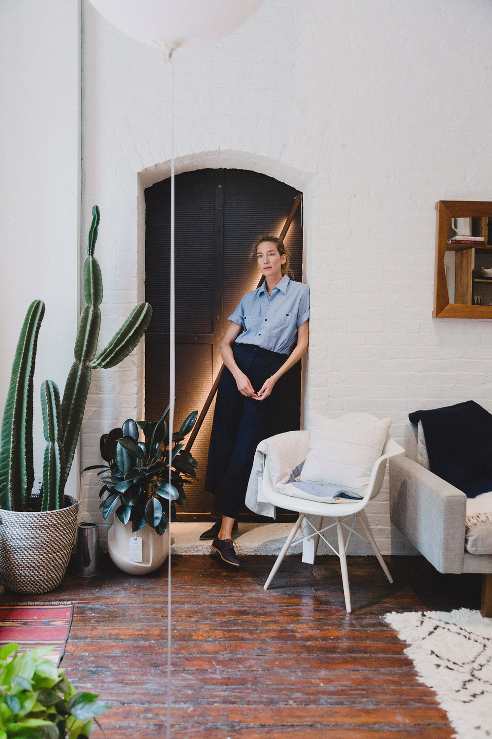 Caroline Ventura, Co-Owner of Calliope and Designer at BRVTVS photographed by Bridget Badore for Coclico