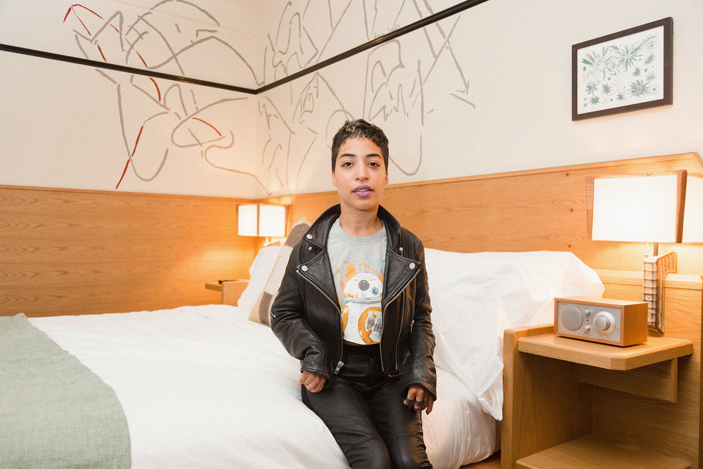 Jillian Mercado at Freehand Hotel