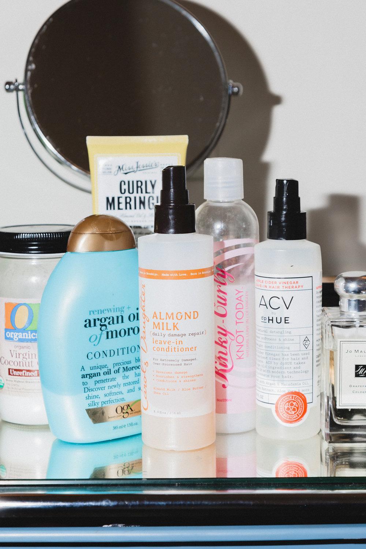 Tiffany Reid's Haircare Essentials