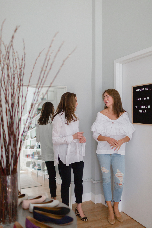 Co-founders Alexa Buckley and Sarah Pierson