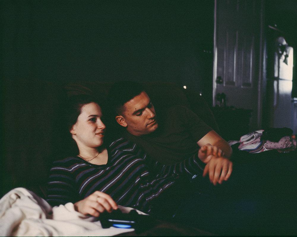Ben & Anna in their Apartment