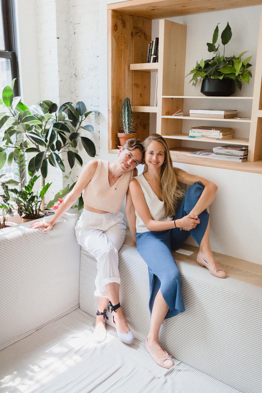Krissy Jones & Chloe Kernaghan of Sky Ting Yoga
