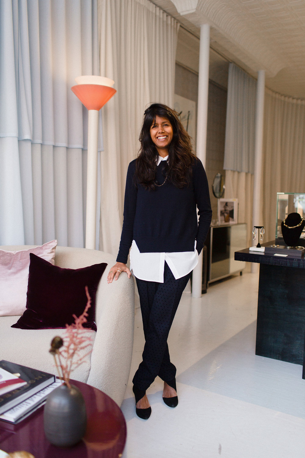 Reshma Patel, owner of Quiet Storms