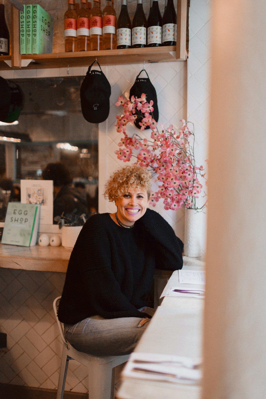 Egg Shop NY Founder Sarah Schneider