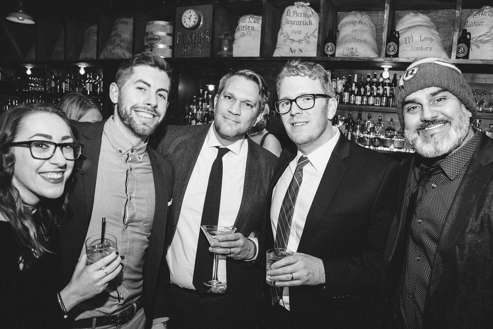 CrossMedia Holiday Party at Pilsener Haus Hoboken, New Jersey, 2016