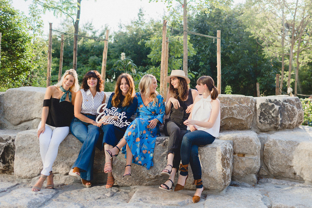 Lesley Anne Murphy, Jeanine Pesce, Jaclyn Johnson, Lexi Dupont, Ruthie Lindsey, and Rachel Schwartzmann
