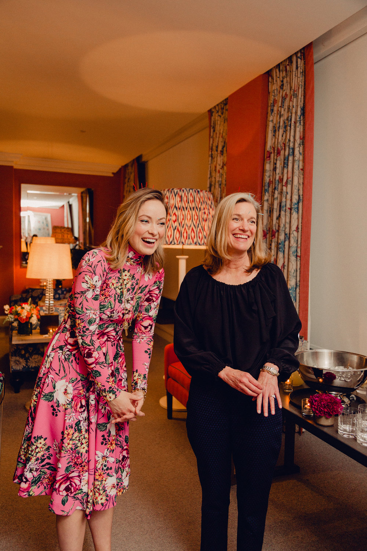 Hillary Peterson & Olivia Wilde