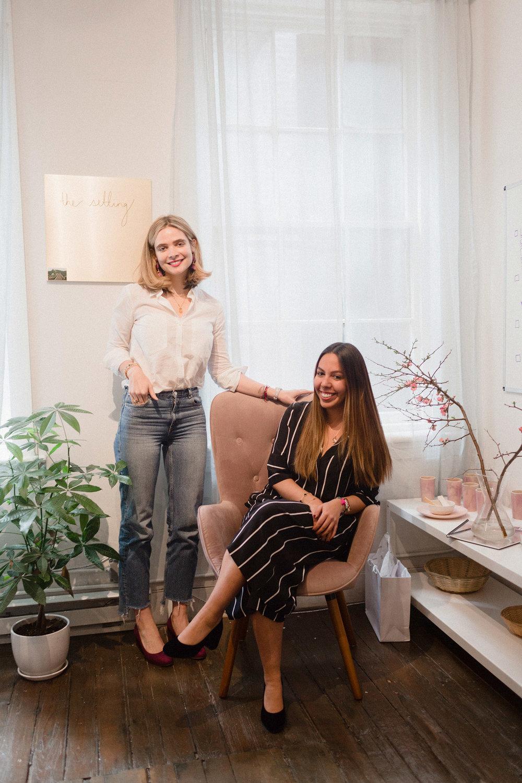Amanda Shine & Billur Kazaz of The Setting