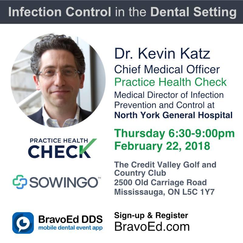 #sowingo#infectioncontrol#dentalCE#PracticeHealthCheck#BravoEdDDS