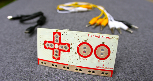 Make + Key = MaKey MaKey! Turning everything into a controller #interface