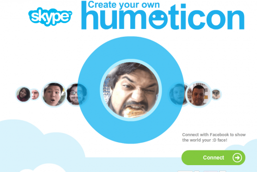 Humoticons app, allows you to mimic classic emoticons by capturing images of your own facial expressions #customization