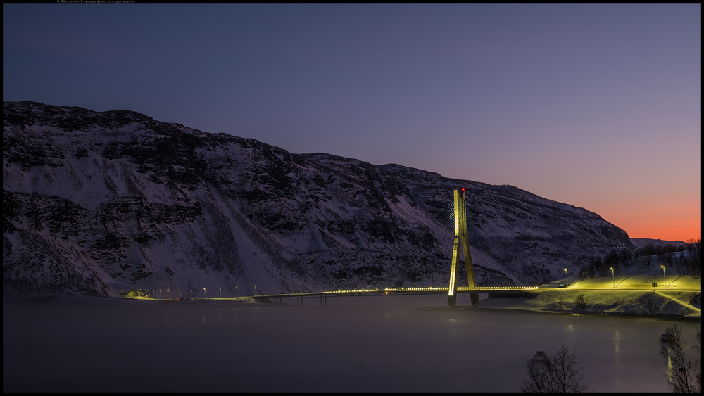 Kåfjord bru.