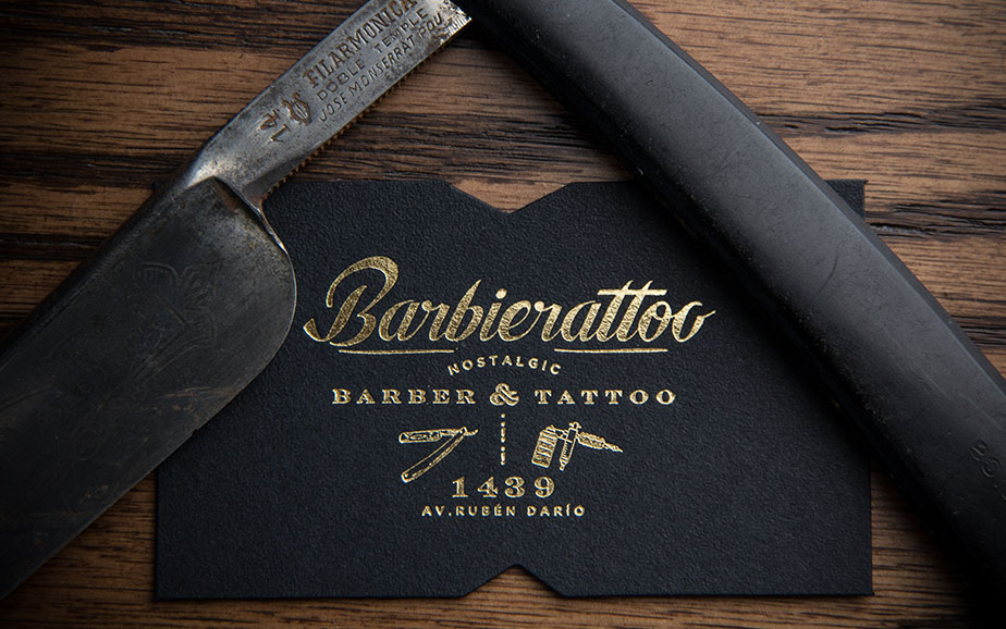 Vintage Tattoo Business Cards Image collections - Card Design And ...