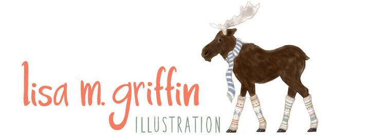 Lisa M. Griffin Illustration and surface pattern design