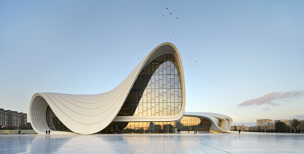 Heydar Aliyev Centre - Image by Hufton and Crow