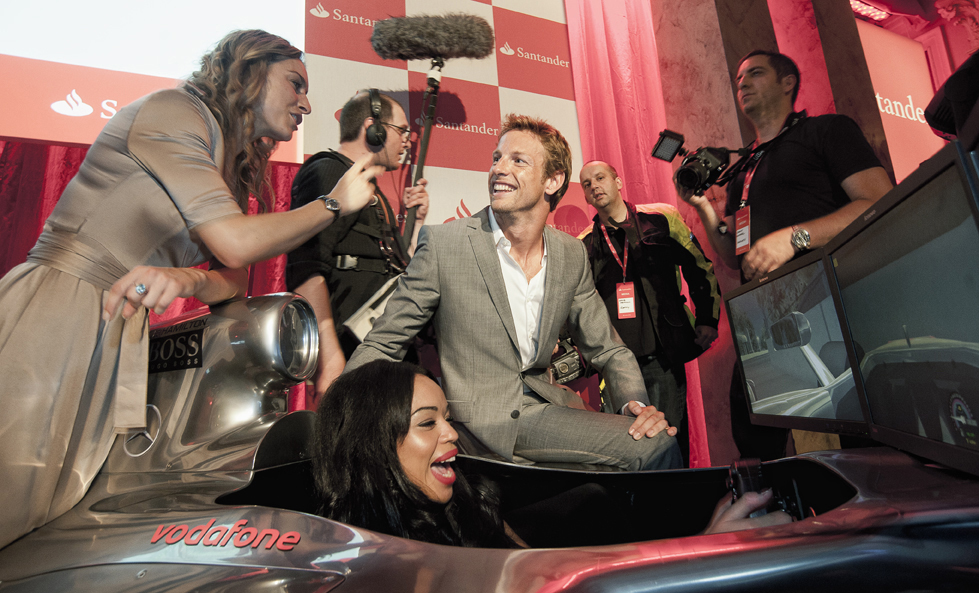 Jenson Button @ The Royal Automobile Club Pall Mall