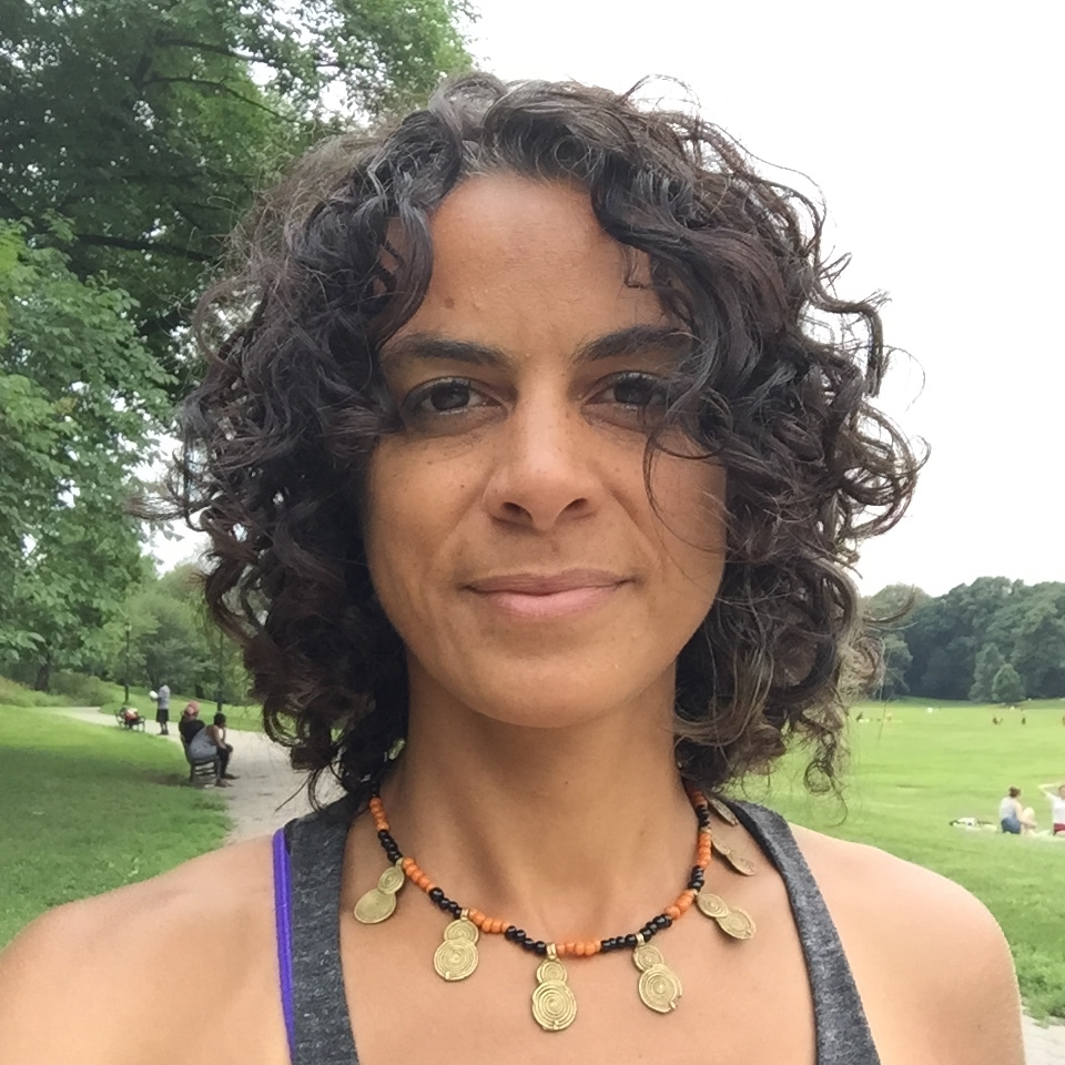 Shawna teaches trauma informed yoga for Exhale to Inhale