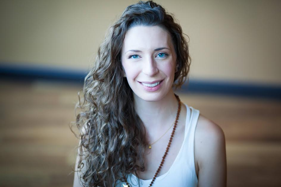 Shannon teaches yoga to survivors of domestic violence and sexual assault
