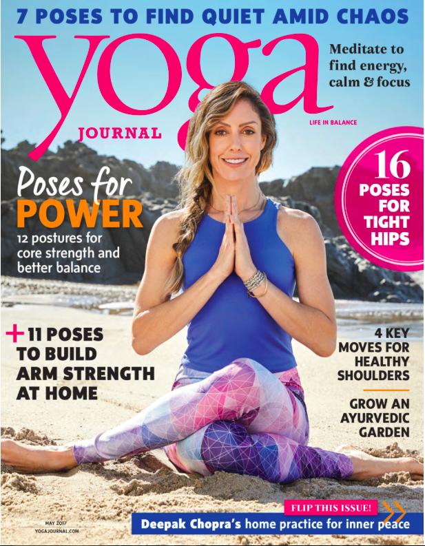 Sarah Finger in Yoga Journal