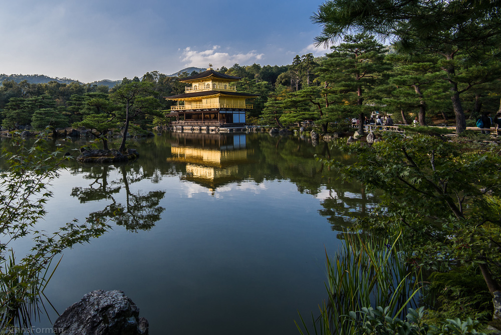 Golden Palace Kyoto Japan